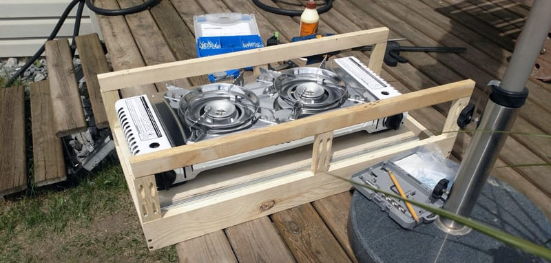 Sliding Drawer Grill Test