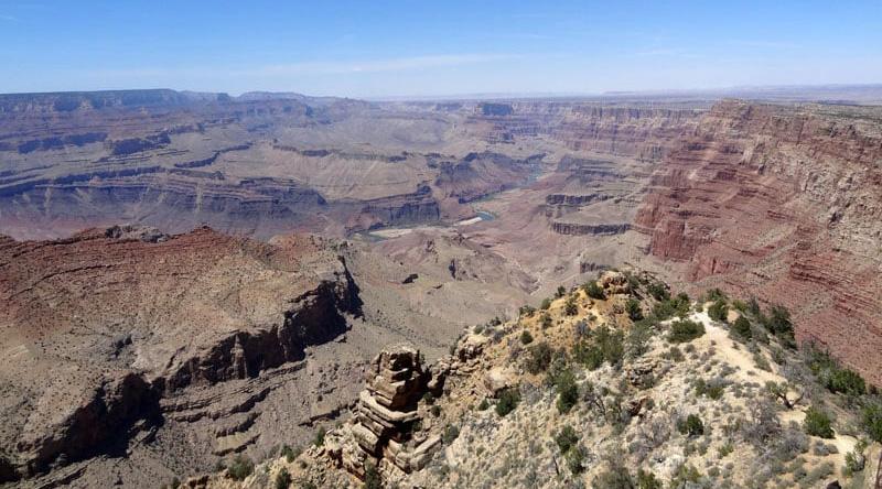 South Rim View Point Grand Canyon