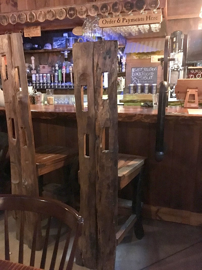 Boothbay Brewery Bar Stools