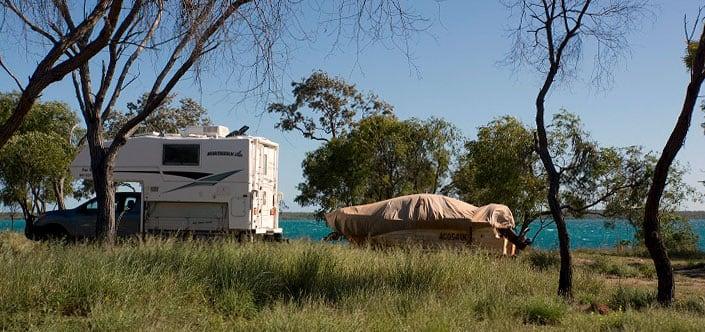 Bush Camp Near Cape Leveque Western Australia