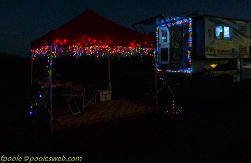 Camper Christmas Lights