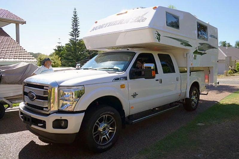 Ford F350 In Australia Chris And Bev
