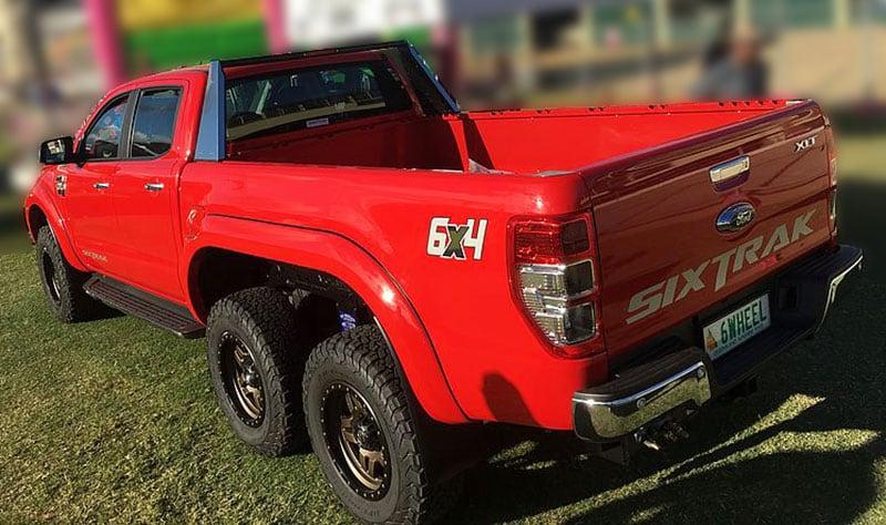 Ford Ranger 6 Wheeler truck