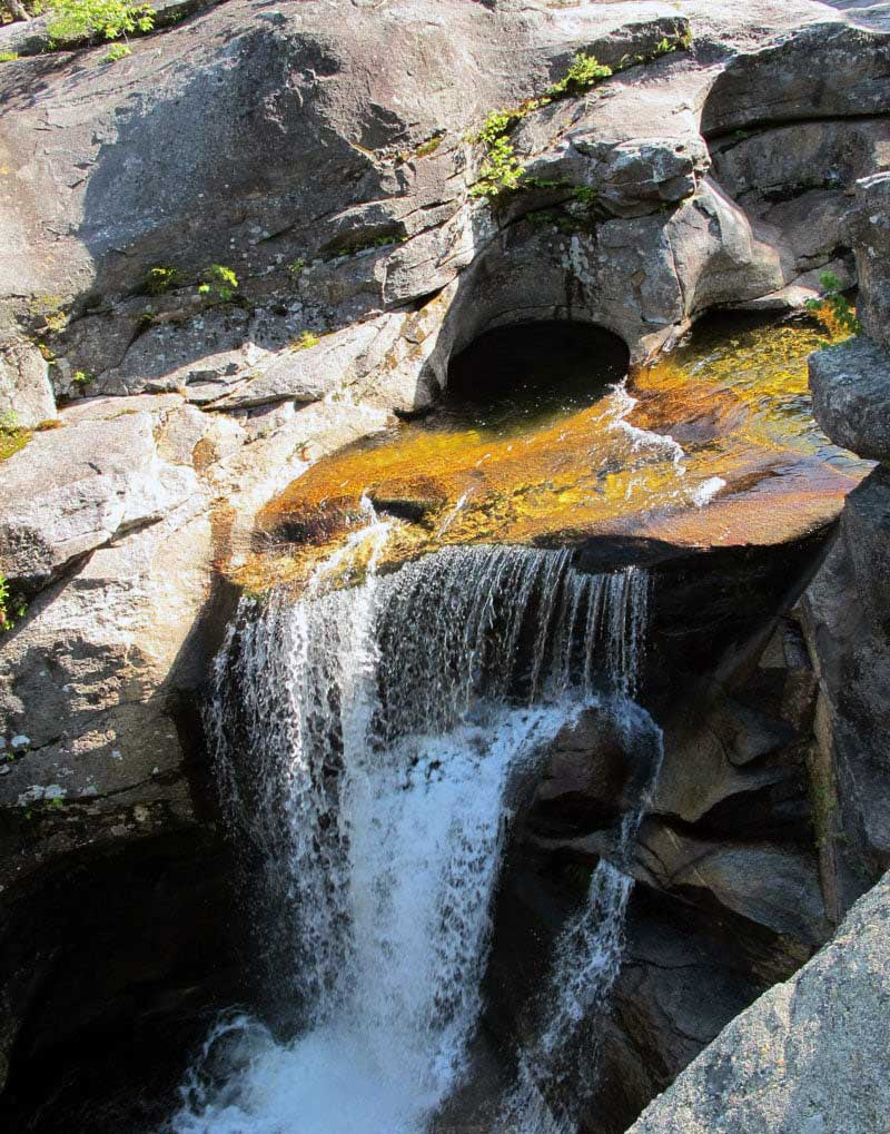 Grafton Notch State Park In Maine Waterfall