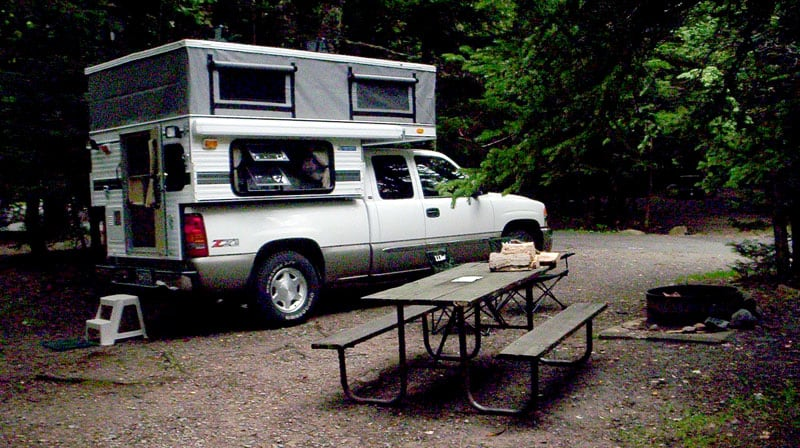 Acadia National Park Campground