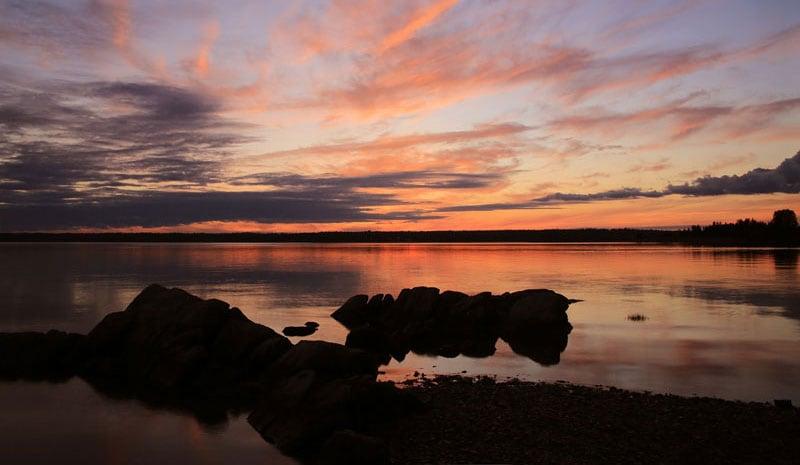 KOA Western Bay Sunset