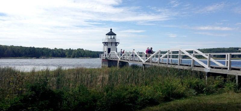 Kennebec River Near Bath Maine