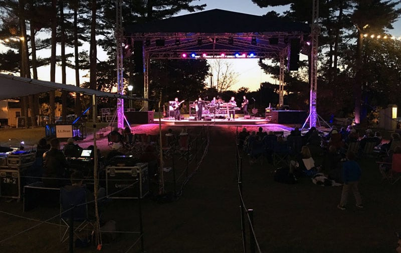 LL Bean Weekend Summer Concert