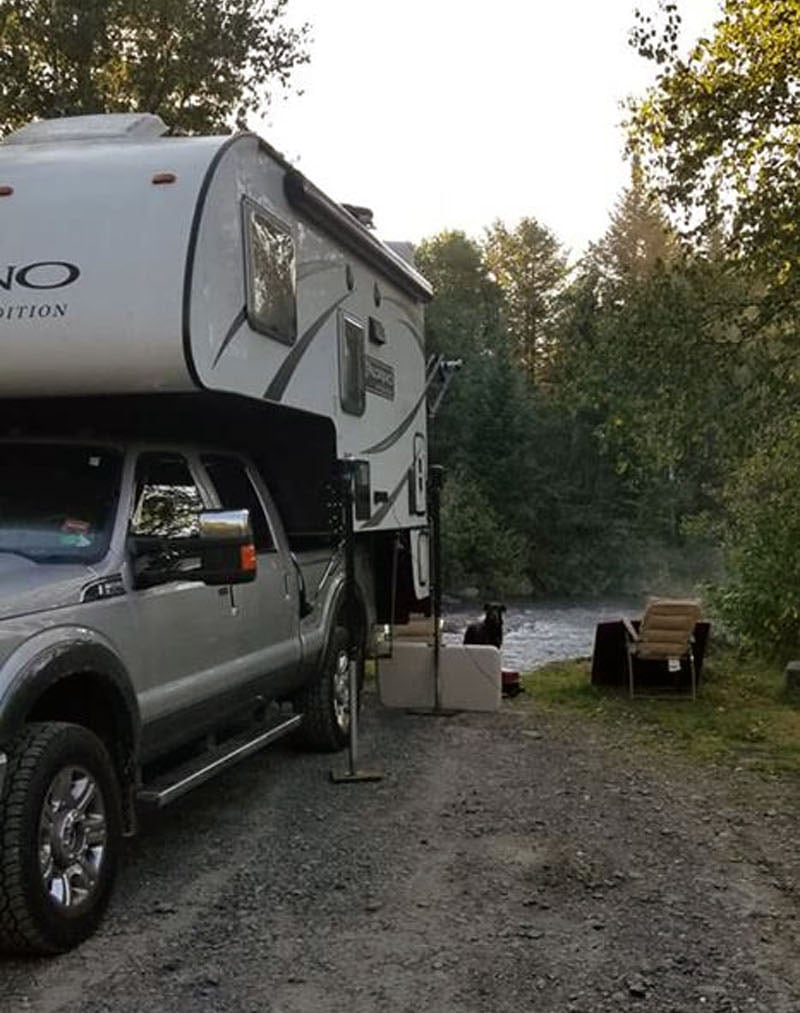 My Rig North Maine Woods
