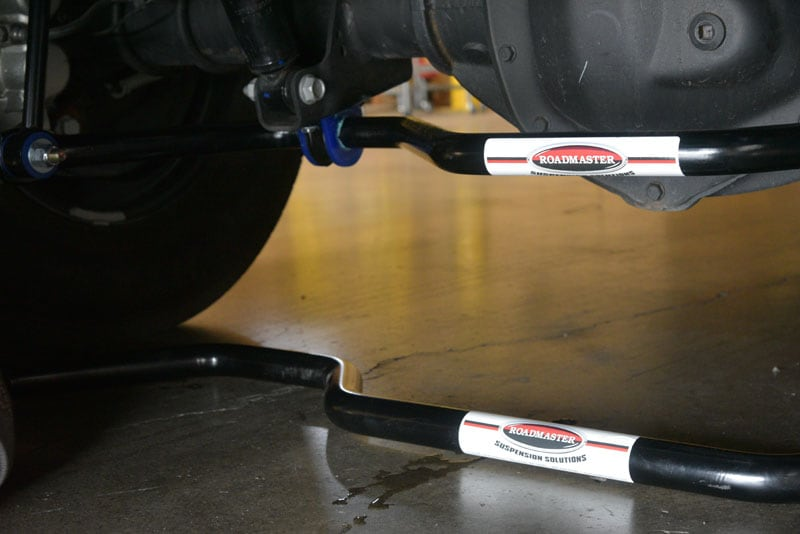 New Sway Bar Bottom