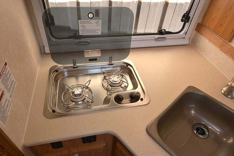 Northstar Liberty Kitchen Cooktop Open