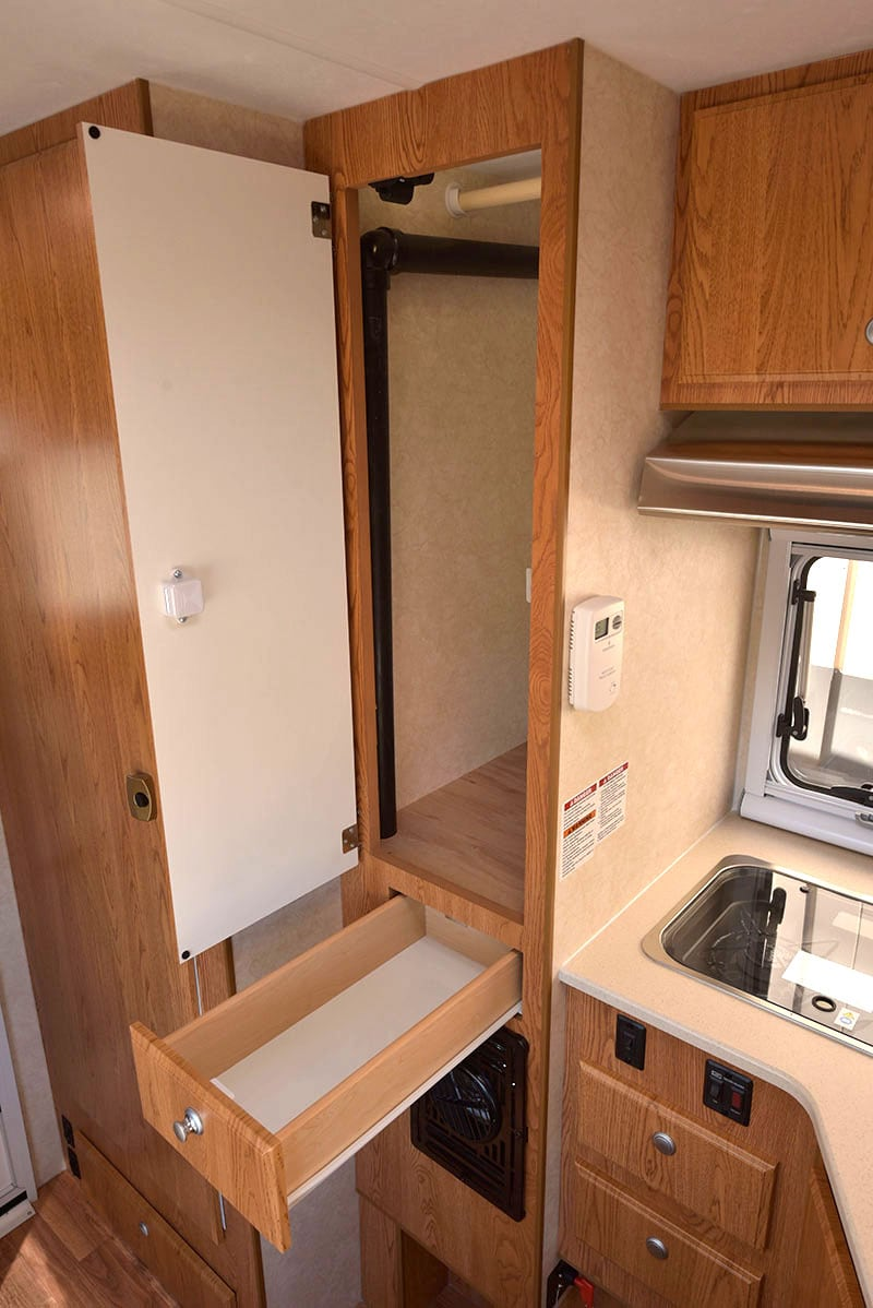 Northstar Liberty Kitchen Hanging Closet And Drawer Tall