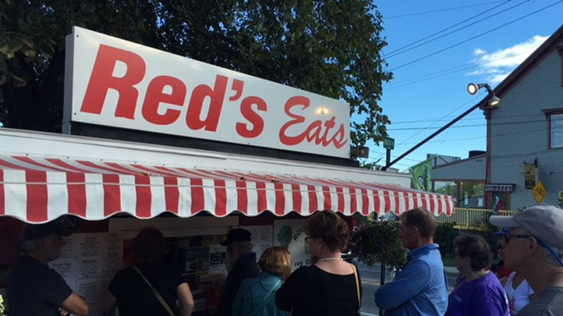 Red's Eats Restaurant In Wiscasset, Maine