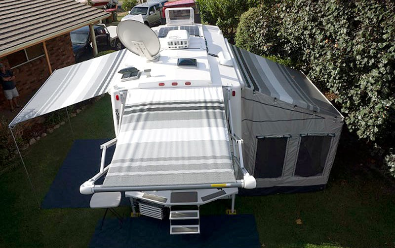 Rooftop With Awnings
