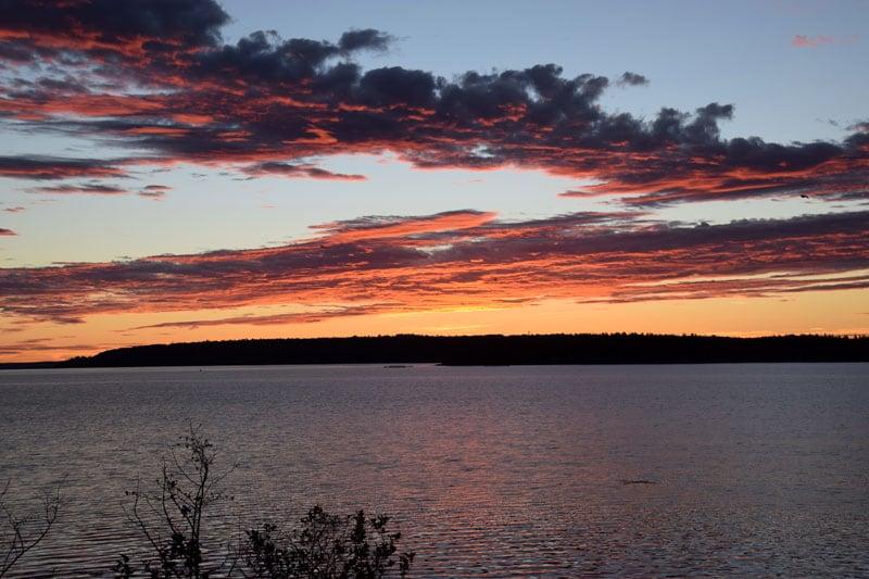 Sunset At Narrow Too
