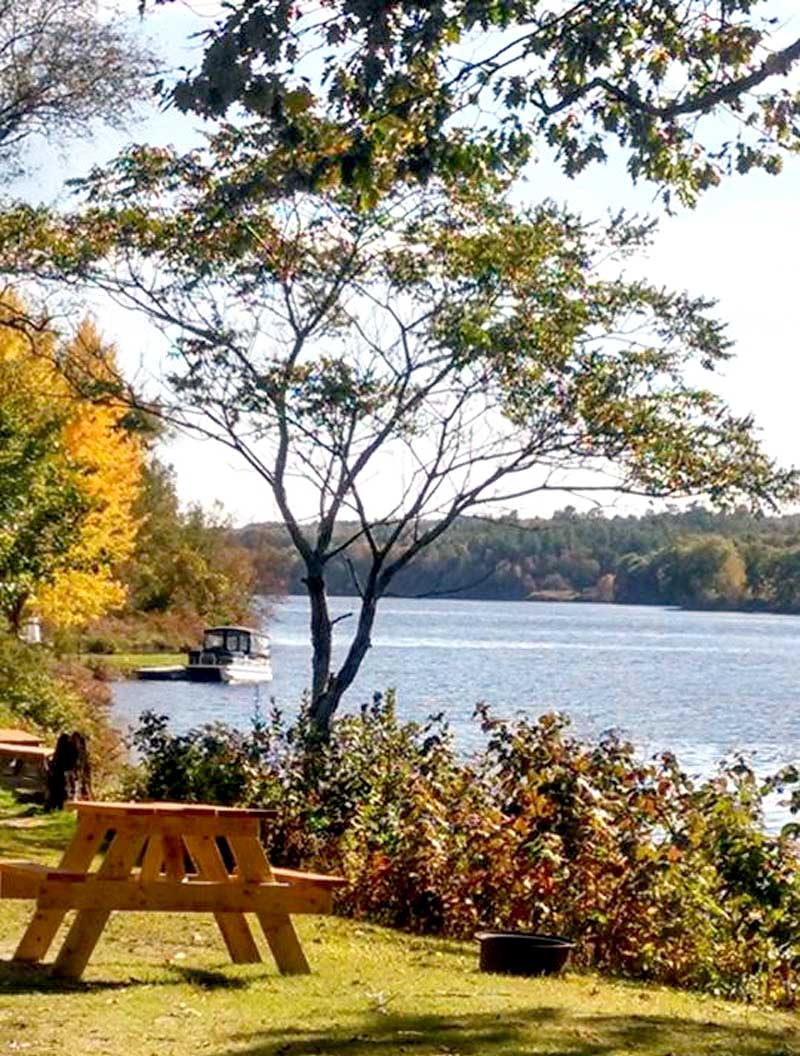 Two Rivers Campground In Skowhegan Maine