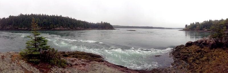 Reversing Falls Pembroke