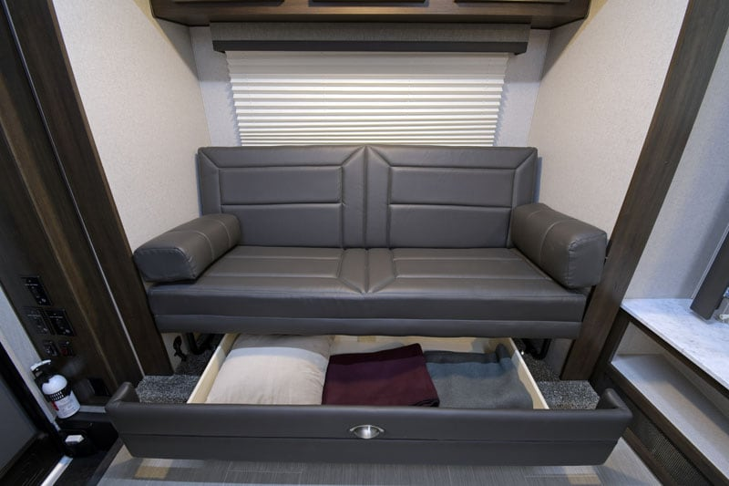 2020 Eagle Cap Camper Sofa Storage