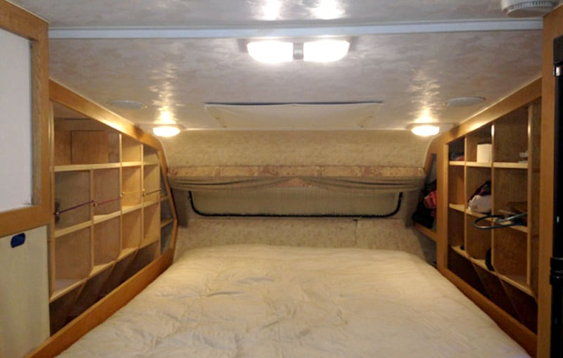 After Overcab Wardrobe Cubbies