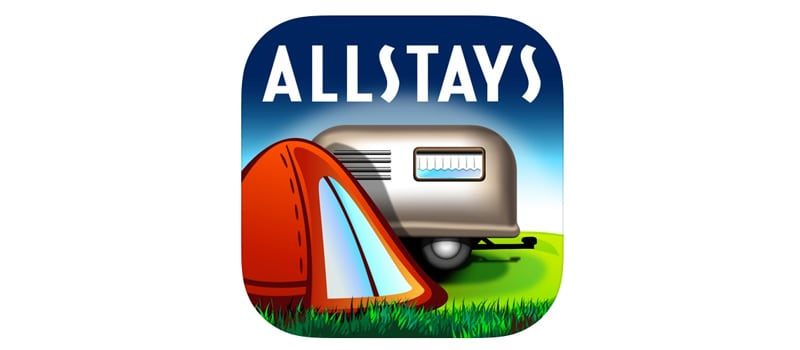 All Stays App For Camp RV Travel