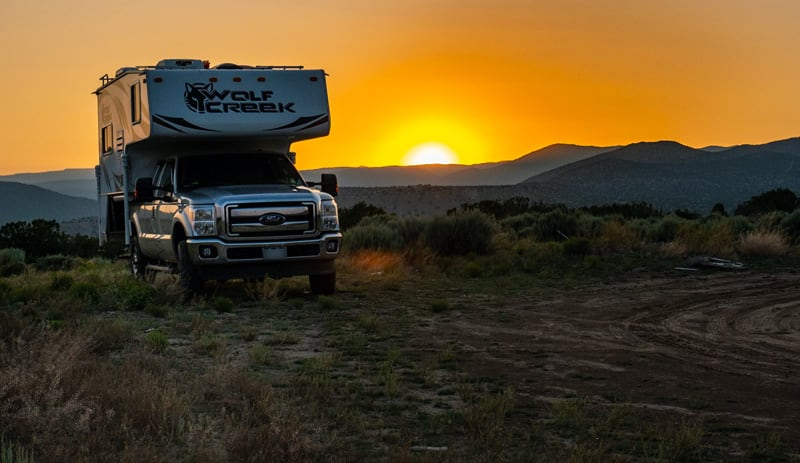 Boondocking Carson National Forest