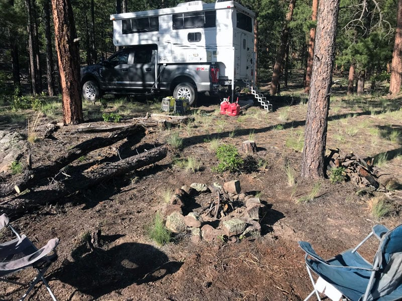 Boondocking Forest Road 19 New Mexico