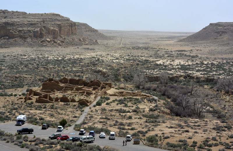 Chaco Culture Parking Lot