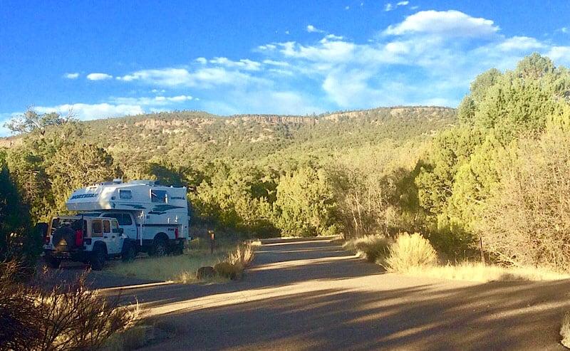 Coal Mine Campground Campsites