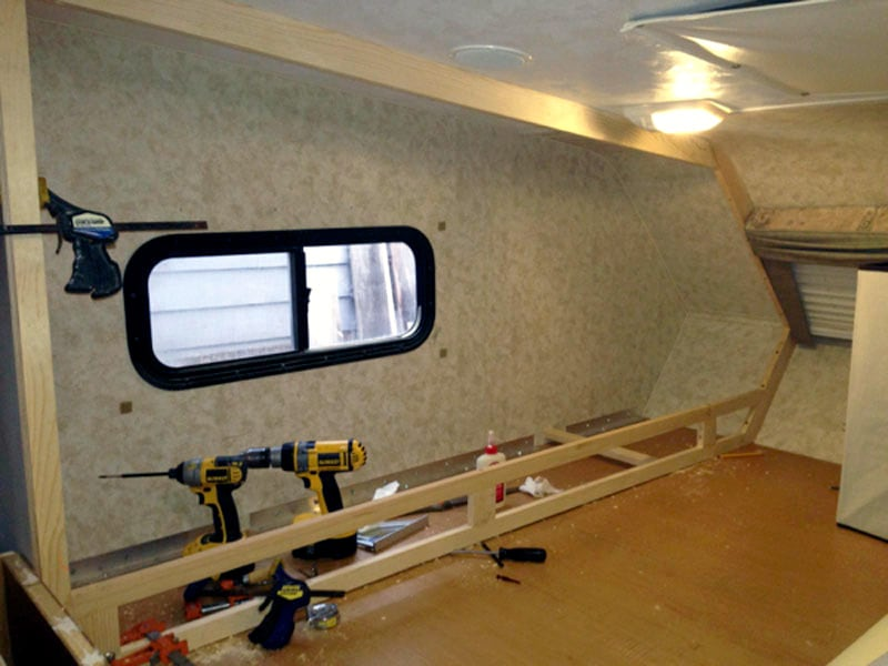 Construction Of Bedroom Cubbies