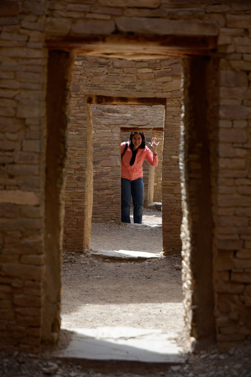 Doorways Lined Up Chaco Culture