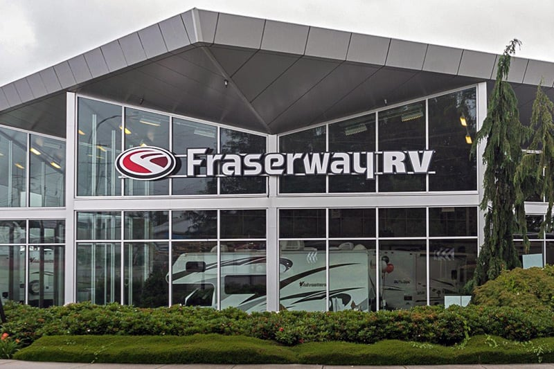 Fraserway RV Building Abbotsford 2019