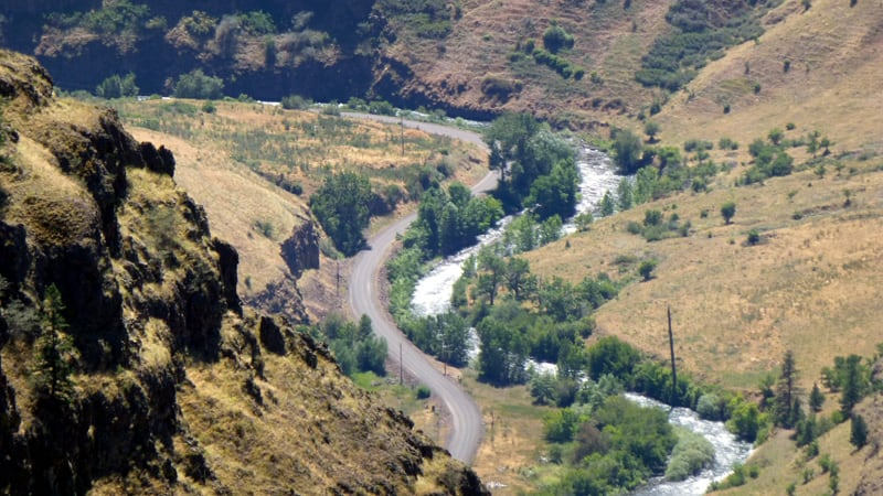 Hat Point Road Oregon Hells Canyon
