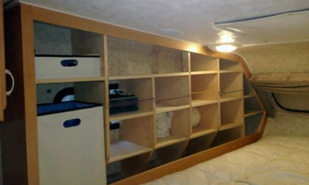 Increased Bedroom Storage Camper