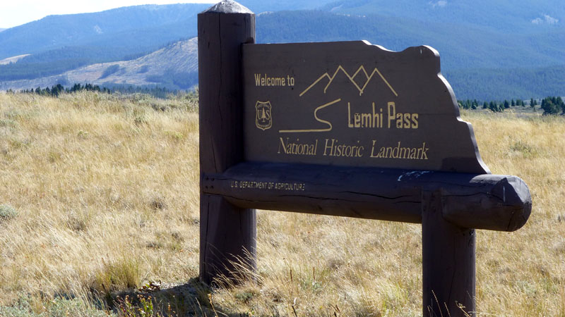 Lemhi Pass Idaho Montana