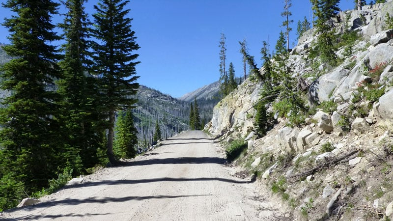 Magruder Corridor Challenging Backcountry Road