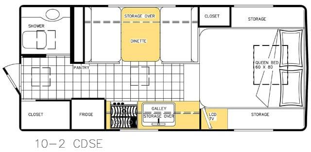 Northern Lite Limited 10-2 Floor Plan