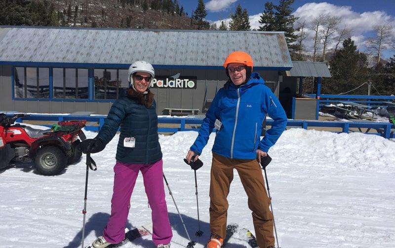 Pajarito Ski Jenny And Todd