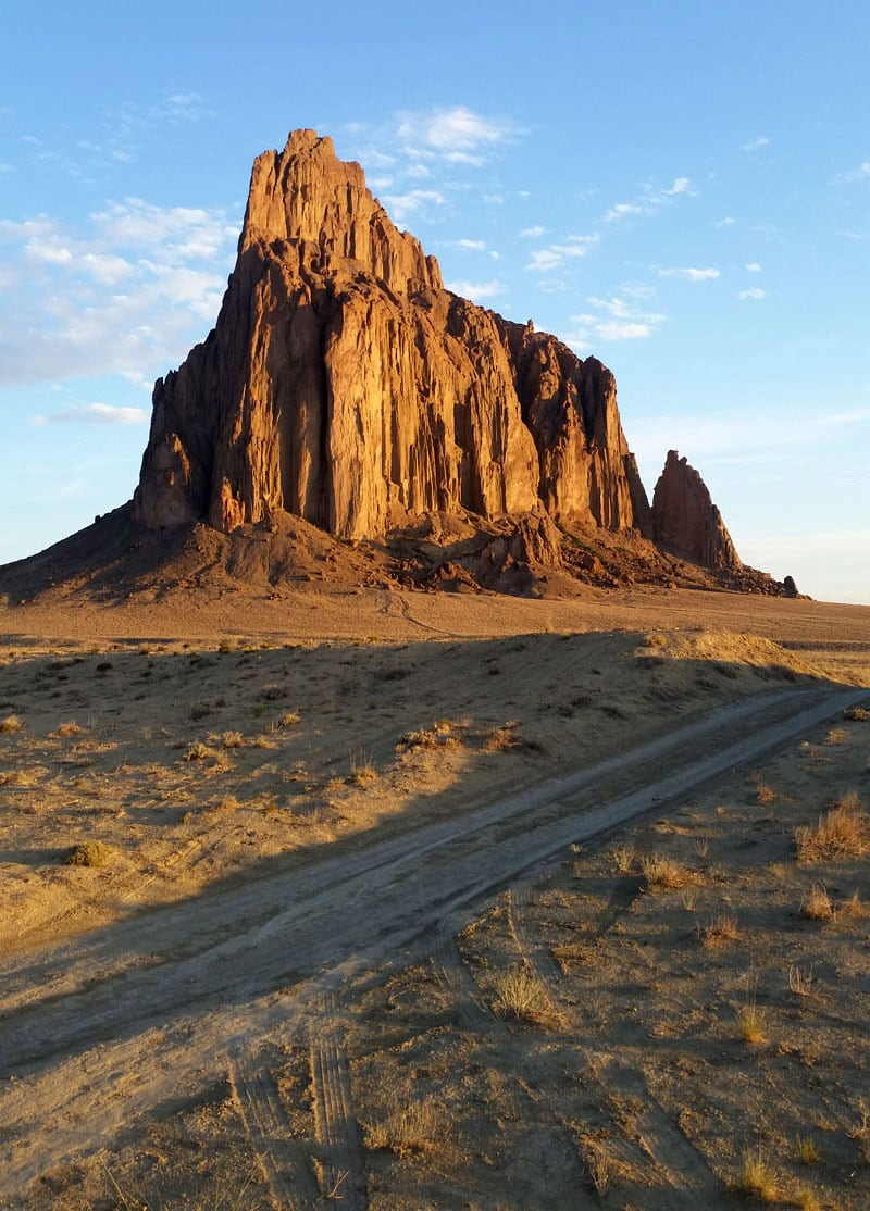 Shiprock New Mexico Camping Boondocking