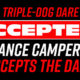 Lance Campers Accepts Camping Dare