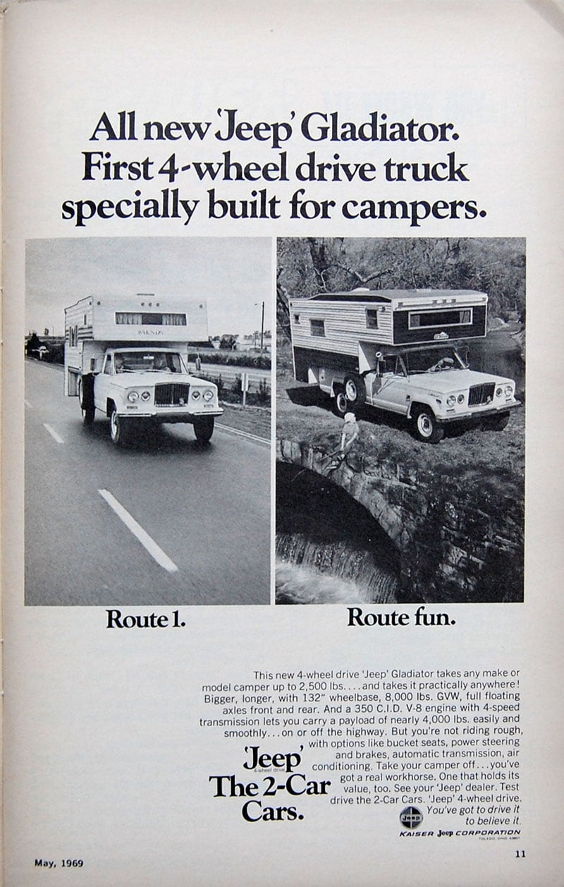 1969 Jeep Gladiator Ad