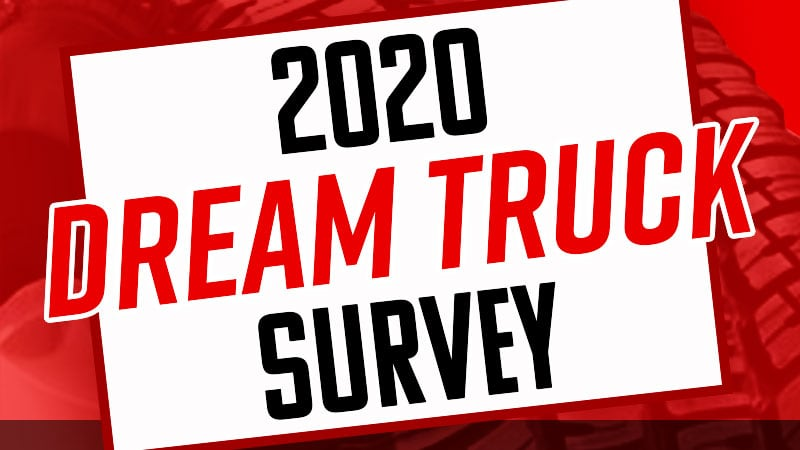 2020 Dream Truck Featured Image