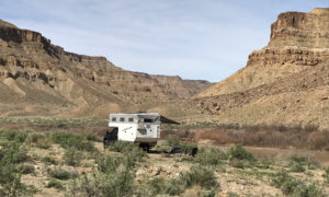 Boondock Camping Along The Green River Utah