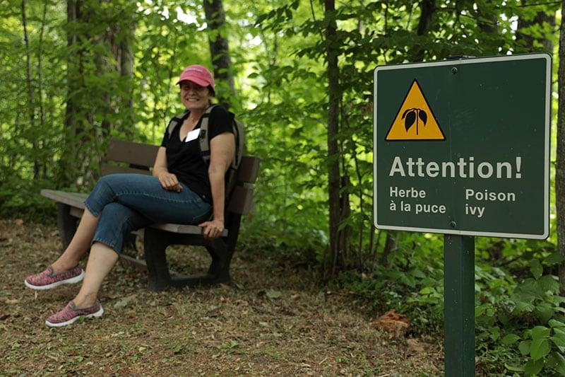 Chateau Trail Poison Ivy