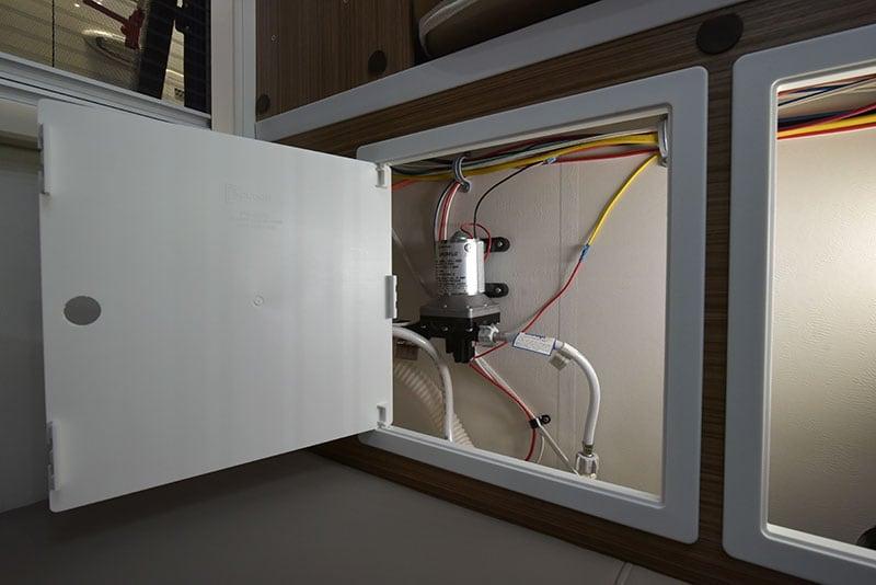 Cirrus 720 Forward Wall Access Panels Water Pump