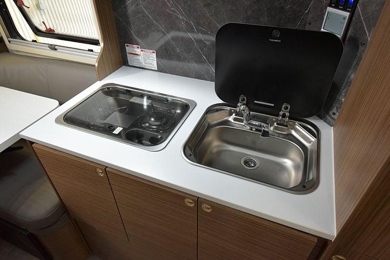 Cirrus 720 Kitchen Countertop Sink Open