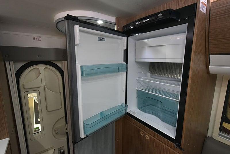 Cirrus 720 Refrigerator Open