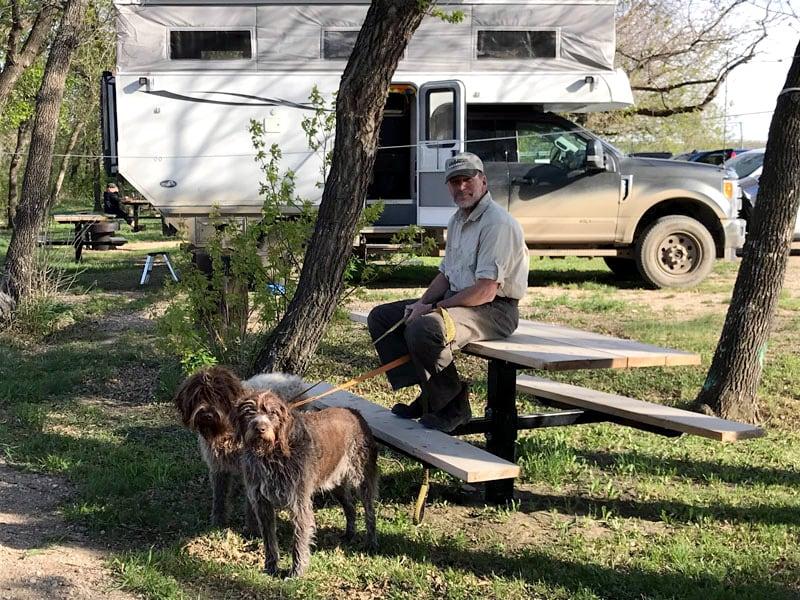 Dogs Go Camping Phoenix Camper