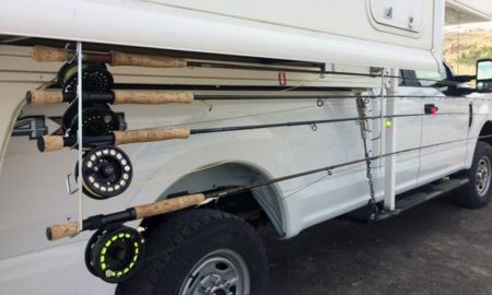 Fly Rods Protected From Wind And Weather