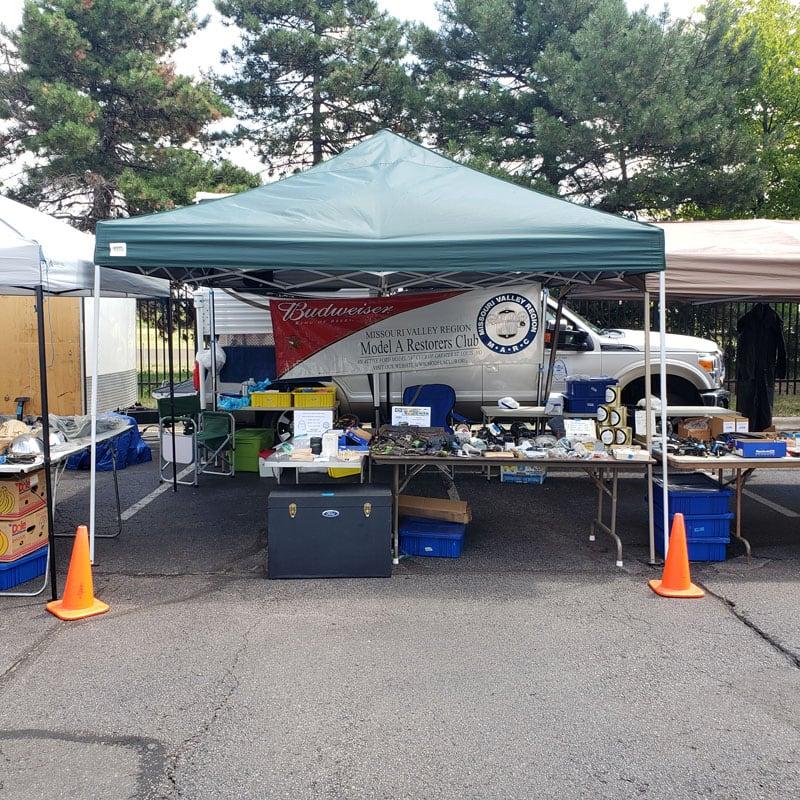 Ford Model A Parts At A National Model A Restorers Club Meet