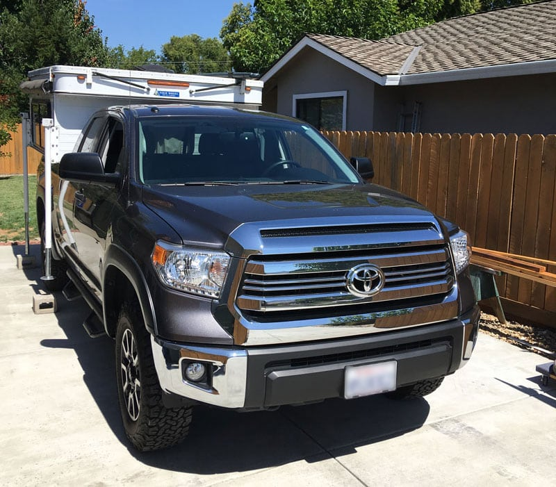 Four Wheel Camper On Toyota Truck Caboverless